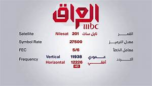 Mbc Iraq - Sd - Nilesat Frequency