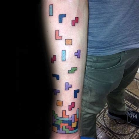 Tattoo Designs God tetris tattoo designs  men video game ink ideas 599 x 599 · jpeg