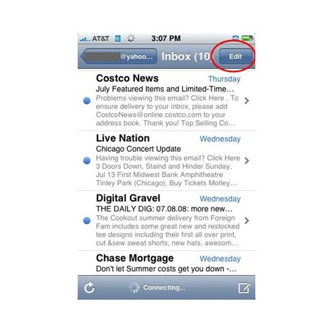 delete all emails on iphone how to delete all email from the iphone