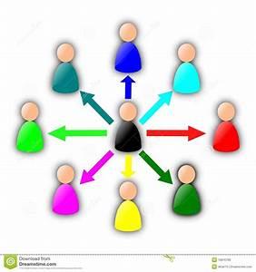 Diagramme De Contact Illustration De Vecteur  Illustration