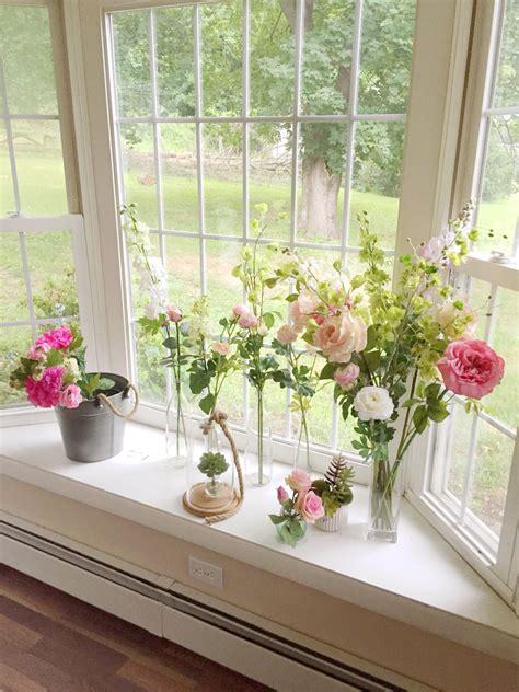 Windowsill Flower Garden by Garden Windowsill Flowers Country Flower Shabby