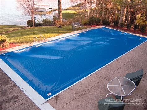 autoguard top track system automatic pool covers