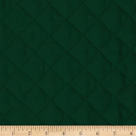 sided quilted fabric sided quilted broadcloth forest green