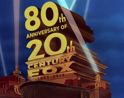 80 Years of 20th Century Fox logo 1981 style by ...