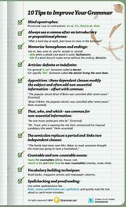 10 tips to improve your grammar infographic grammar With how to improve letter writing skills in english