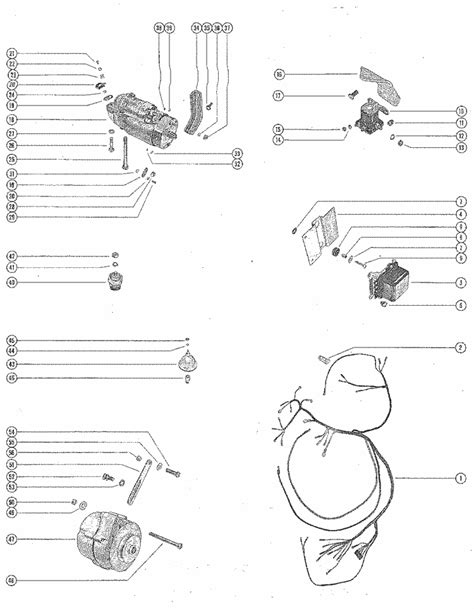 1964 Gm Engine Wiring Harnes Diagram by Mercruiser 190 Gm 283 V 8 1963 1964 Starter Motor