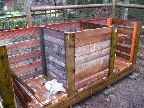 10 compost bins for backyard how to build the compost bin backyard feast