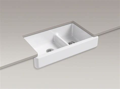 Kohler Whitehaven Sink 36 by Kohler 174 Whitehaven 174 Bowl Cast Iron Sink