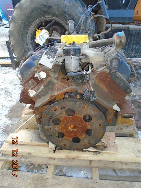 R F Engine General Motors 6.5L Engine Complete Running B- BCN: 12555506