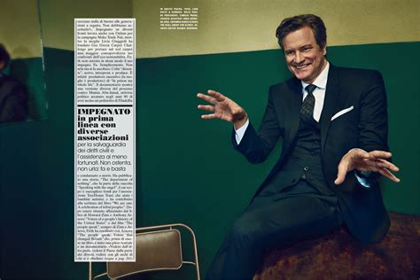 total si鑒e colin firth vogue it