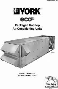 York Eco R 407c Users Manual Form 100 50 Eg1 201   Eco2