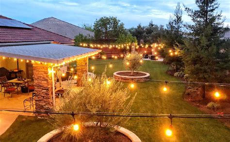 Amazon.com: 18Ft Outdoor Weatherproof String Lights with