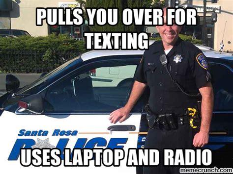 Cop Meme - dumb cop