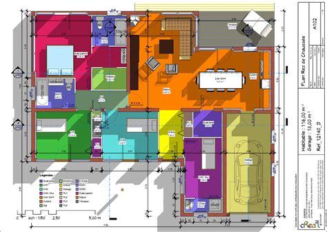plan maison plain pied 4 chambres garage plans maisons tout pour vos constructions maison et