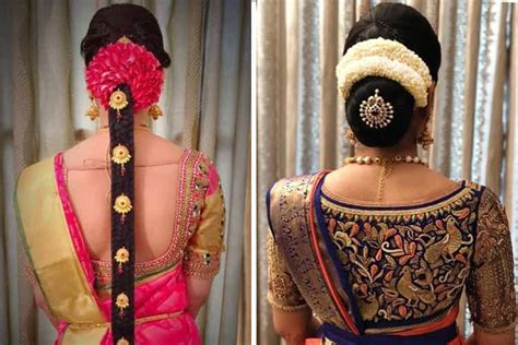 Wedding Hairstyles Indian : 12 Popular South Indian Bridal Hairstyles
