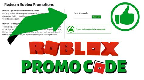 roblox  virtual item promo code  working roblox