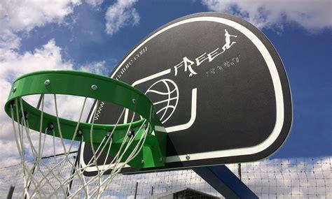 panneau de basket exterieur panneau de basket pour terrains multisports ext 233 rieur