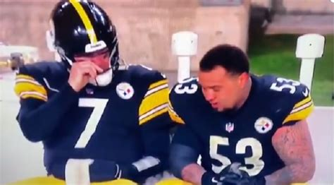 emotional ben roethlisberger   crying