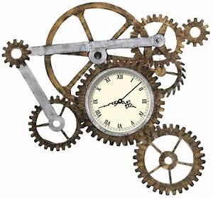Steampunk Gears | Steampunk Gears Steampunk gear clock ...