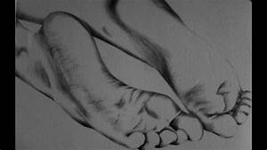 Feet - Drawing With Pen And Pencil