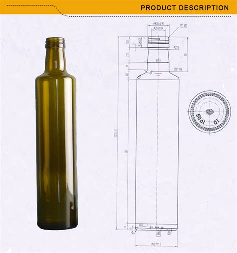 Contains special layers and smart objects for your work. High Quality 375ml 500ml 750ml Unique Green Glass Olive ...