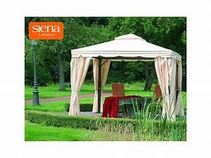 Siena Garden Pavillon : siena garden pavillon dubai 300 x 300 cm anthrazit natur ~ Whattoseeinmadrid.com Haus und Dekorationen