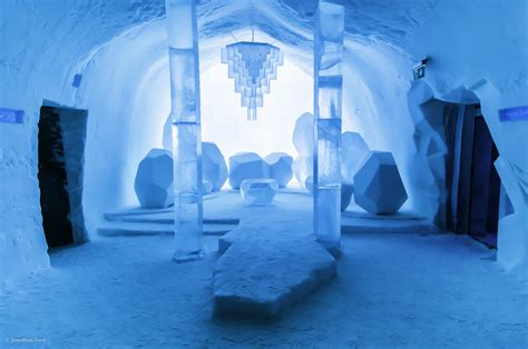 staying   icehotel  sweden