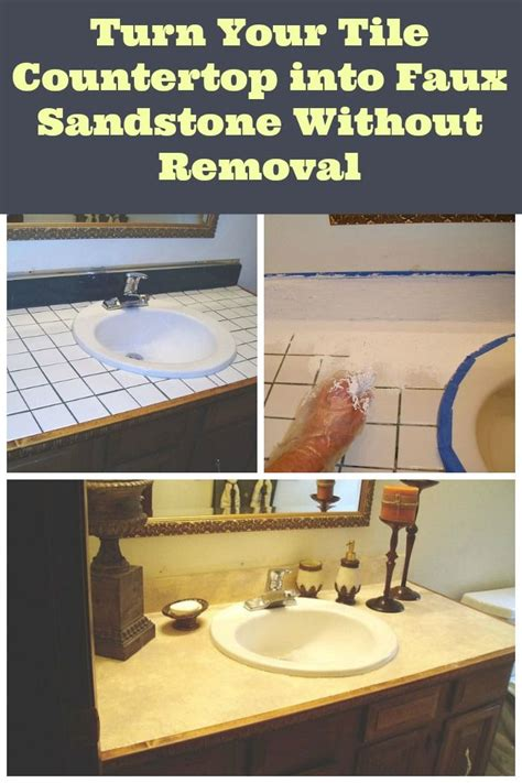 How To Cover A Tile Countertop by Best 25 Countertop Covers Ideas On