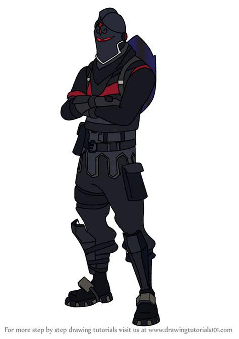 learn   draw black knight  fortnite fortnite