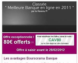Deposer Cheque Boursorama : 80 euros offerts pour l 39 ouverture d 39 un compte bancaire chez boursorama avec depot de 300 euros ~ Medecine-chirurgie-esthetiques.com Avis de Voitures