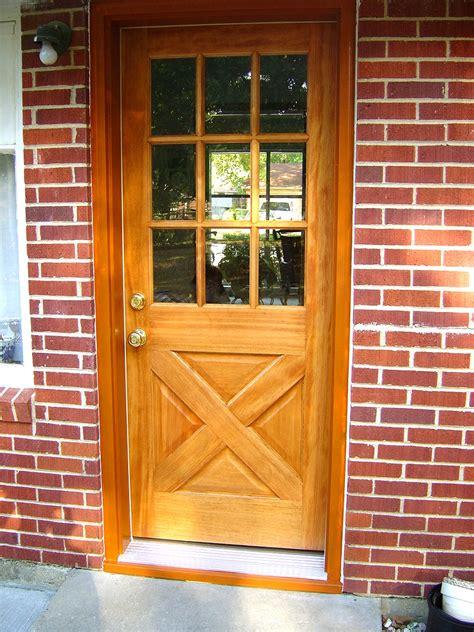 prehung exterior door exterior door installation installing a prehung door
