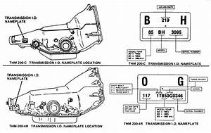 Of Automatic Transmission Serial Number Location And