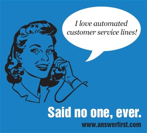 automated phone system no one likes automated phone systems contact us at www