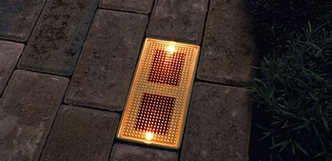 solar brick lights illuminate your walk lights powered by the sun ecofriend