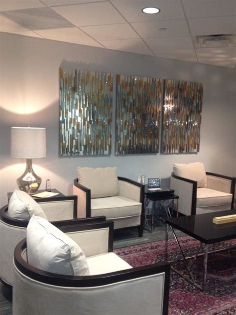 corporate office waiting area