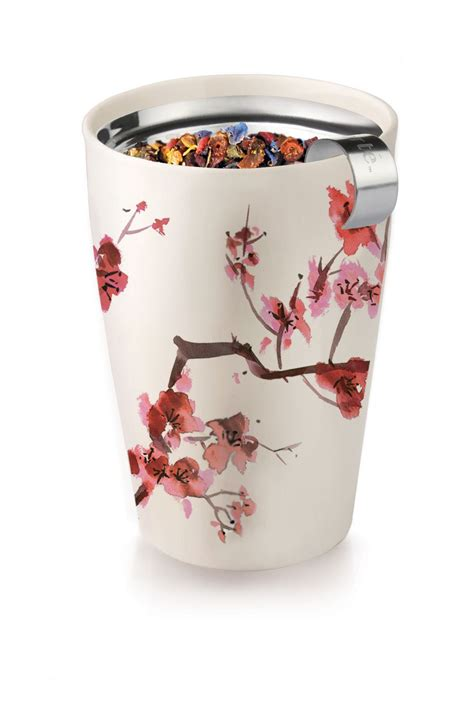 tea infuser mug kati blossom cherry