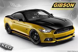 Gibson Performance Exhaust Previews Their SEMA Bound '15 Mustang GT - StangTV