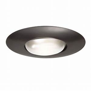 Recessed lighting trim sizes : Halo series in tuscan bronze recessed ceiling light