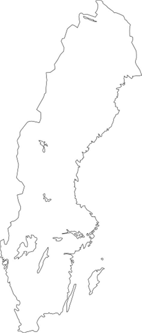 Map Of Sweden clip art (108829) Free SVG Download / 4 Vector