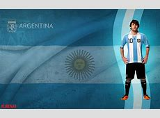 10 Latest Argentina Flag With Messi FULL HD 1920×1080 For