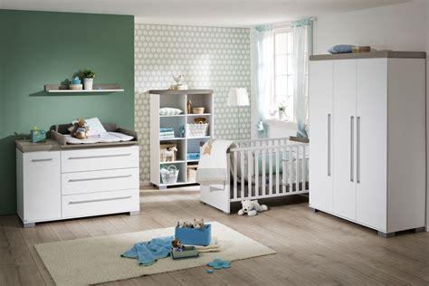Babyzimmer KIRA in weiß Dekor von PAIDI und Babyzimmer