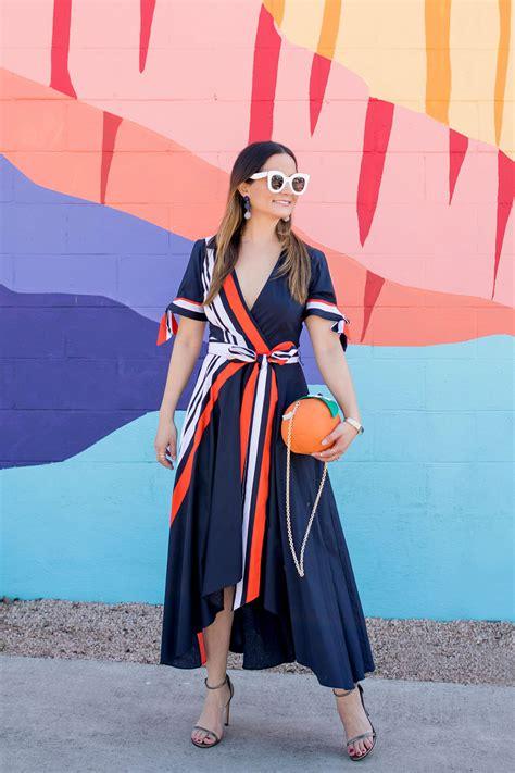 Dress Valerie milly valerie dress and kate spade orange bag in