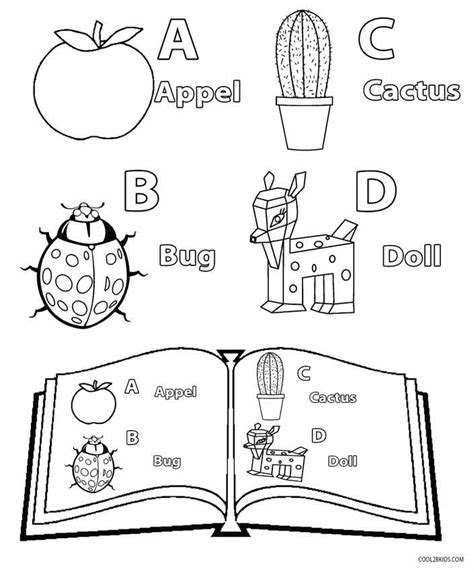 printable kindergarten coloring pages  kids coolbkids