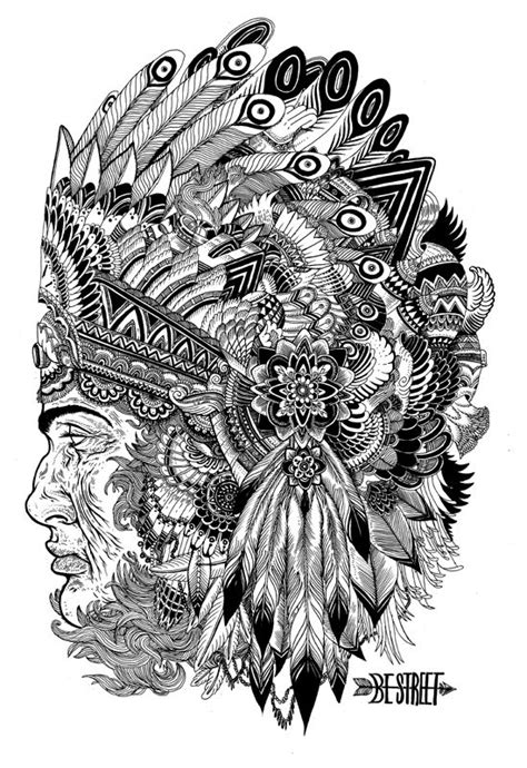 40 best images about Coloring pages to print - Native on
