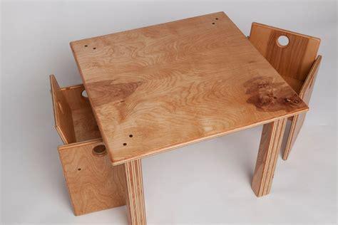custom  childrens wooden table  chair set  fast industries llc custommadecom