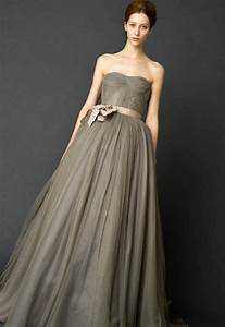 vera wang gray wedding dress great ideas for fashion With grey wedding dress vera wang