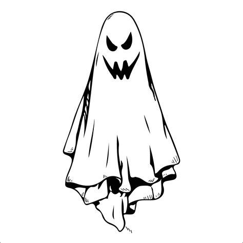 4 Best Halloween Printable Ghost Template