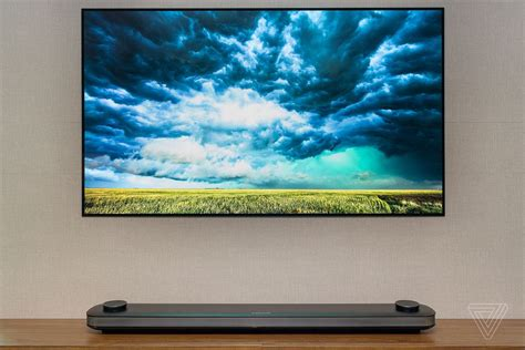 Digital Tv Wallpaper by Lg S 77 Inch Wallpaper Tv Is Selling For The Low Low