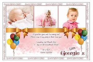 Sample Personalized 1St Birthday Invitations 96 In Card