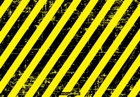 Hazard Backgrounds by Grunge Danger Caution Background Free Vector